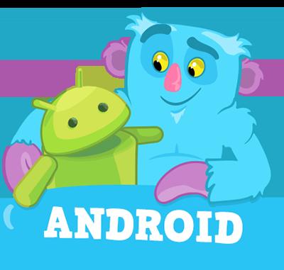 Robô Android com Bicho Papão